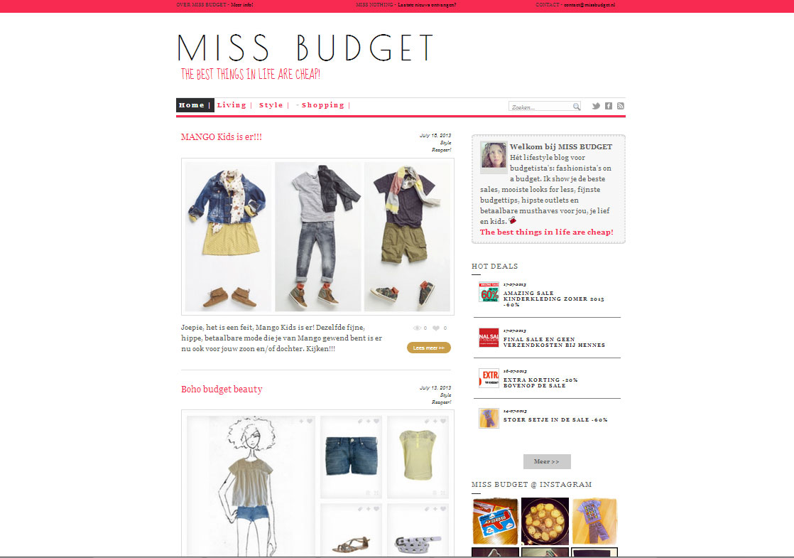 Homepage-missbudget.nl