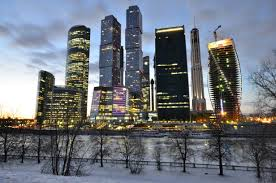 Moscow Business Skyline
