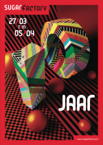 10 jaar Sugarfactory - flyer verticaal