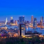 Europe_Netherlands_Rotterdam_view_Euromast1