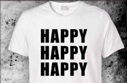 Happy t-shirts