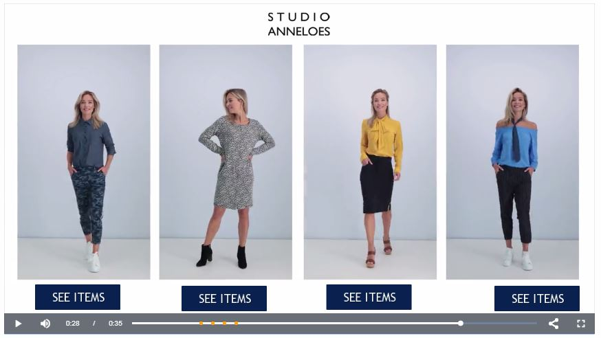 innoveren met shoppable fashion content